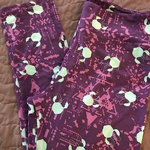 Pants - Lularoe Disney legging TC